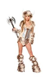 Костюм девушки викинга