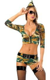 Костюм сексуальный сержант