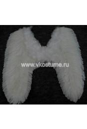 Крылья белые 80 см