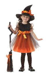 Костюм доброй ведьмочки детский