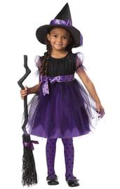 Костюм доброй ведьмочки фиолетовый детский