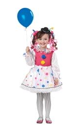 Костюм милой клоунессы детский