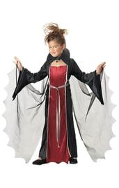 Костюм начинающей вампирши детский