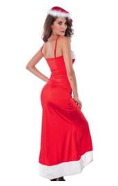 Элегантное платье санты