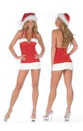 Сексуальное рождественское платье
