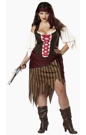 Костюм горячей пиратки XL