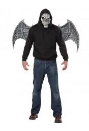 Маска и крылья демона белые