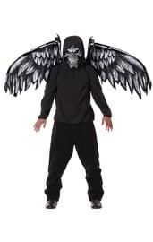 Маска и крылья ангела зла