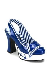 Гламурные туфли морячки