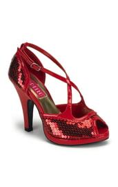 Красные туфли русалки