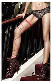 Подвязка со шнуровкой