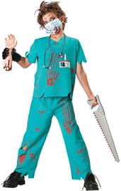 Костюм кровавого врача детский