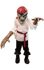 Костюм скелета пирата с большой головой