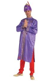 Костюм индийского актера-звезды фиолетовый