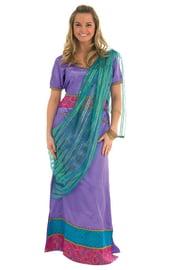 Костюм индийской старлетки фиолетовый
