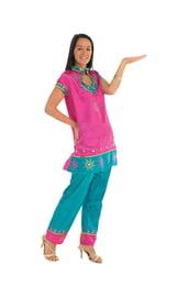 Костюм индийской леди