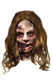 Маска женщины зомби