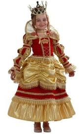 Карнавальный костюм золотистой королевы