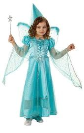 Детский костюм Волшебной Феи голубой