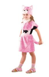 Детский костюм розовой кошечки
