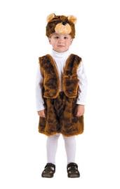 Детский костюм бурого медвежонка