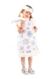 Детский костюм маленькой снежинки