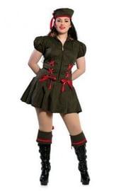 Костюм военной леди