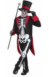 Костюм мистера скелета детский