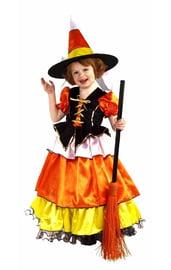 Детский костюм конфетной ведьмочки