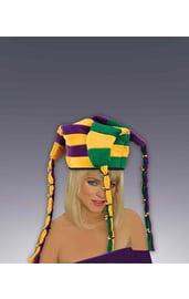 Полосатая шапка шута
