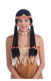 Парик американского индейца