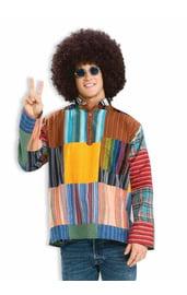 Лоскутная хиппи-рубашка