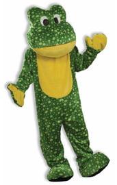 Роскошный костюм лягушки-талисмана