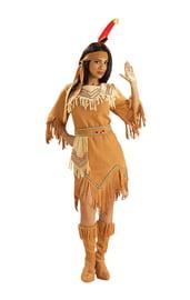Костюм коренной американки бежевый