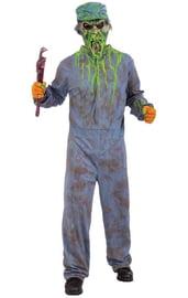 Костюм сантехника-зомби