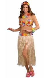 Костюм гавайской девушки