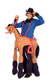 Костюм ковбоя на лошади