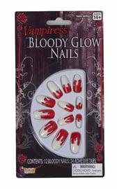 Накладные ногти вампира
