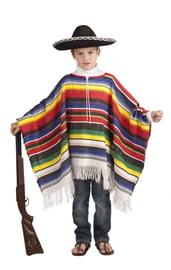 Мексиканское пончо детское