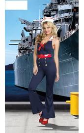 Брючный костюм морячки