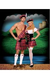 Костюм горячего шотландца