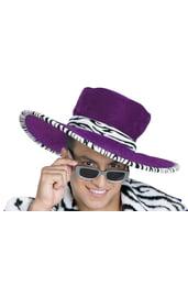 Фиолетовая шляпа сутенера