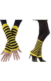 Черно-желтые гетры