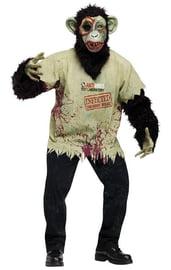 Костюм зомби шимпанзе