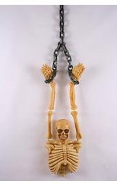 Туловище скелета в цепях
