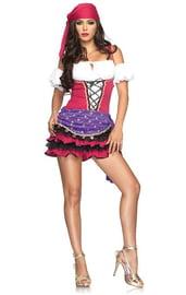 Розовый костюм цыганки