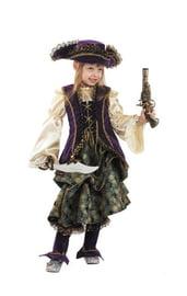 Детский костюм капитанши пиратов