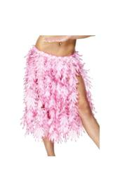 Гавайская юбка из листьев