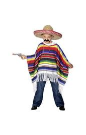 Детское мексиканское пончо