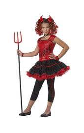 Детский костюм дерзкой дьяволицы